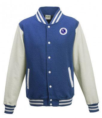 Adult Varsity Jacket Royal/White