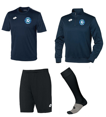 Kids Training Pack - with 1/4 Zip Top