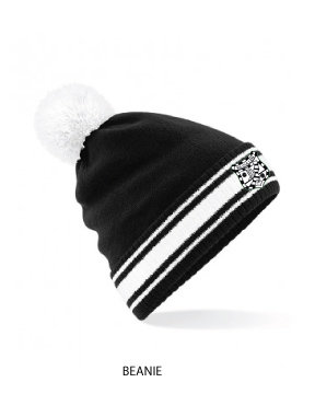 Beanie Stadium Bobble Black/White