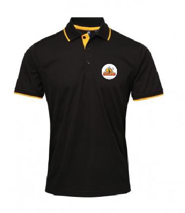 Polo Shirt Black/Yellow