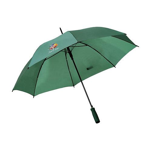 Crested Green Umbrella
