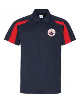 Adult Polo Navy/Red