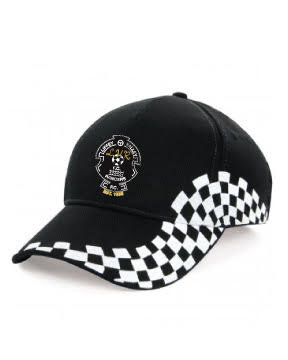 Baseball Cap 2 Colour Black/White