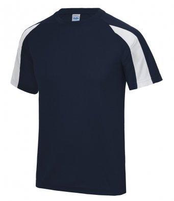 Adult Tee Shirt Black/White