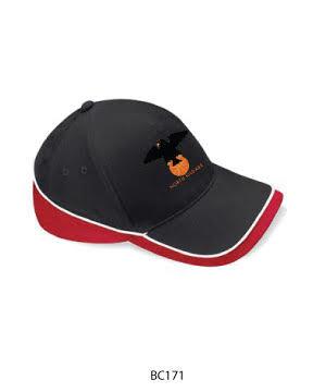 Teamwear Cap Black/Red/White