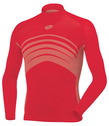 Body Armour Long Sleeve T-Shirt - Red