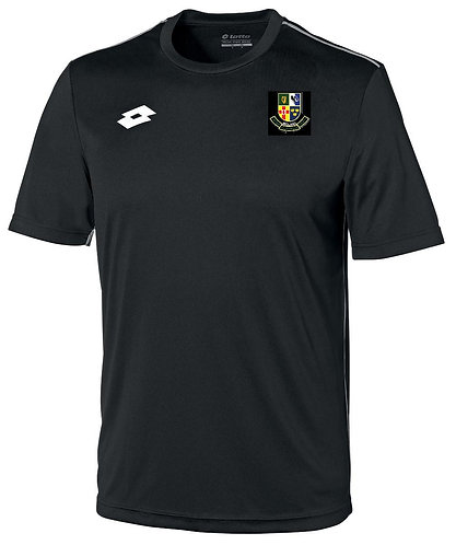 Training Jersey Black Polyester