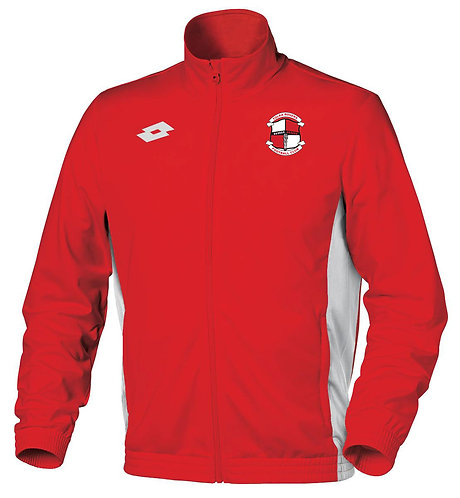 Adult Track Top Sweat Delta FZ Red/White