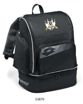 Backpack Soccer Omega II Black/Grey