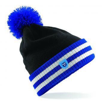 Beanie Hat Black/Blue