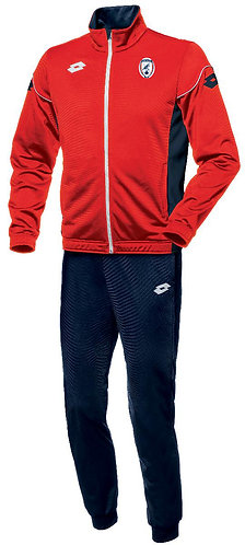 Adult Tracksuit Delta Red/Navy