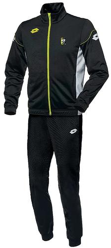Kids Track Suit Black/Yellow
