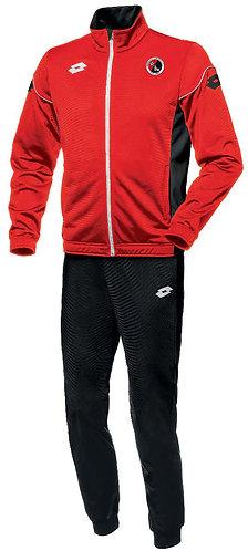 Kids Track Suit Red/Black