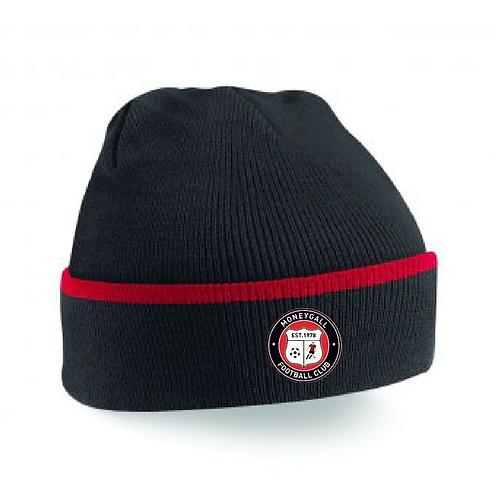Beanie Hat Red/Black