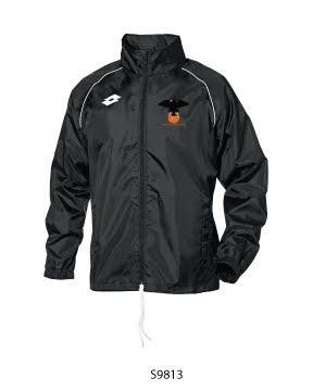 Kids Rain Jacket Delta Black/White