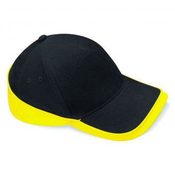 Baseball Cap Black/Yellow