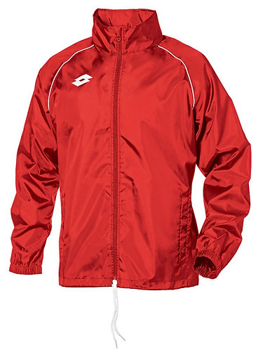 Adult Rain Jacket Red/White