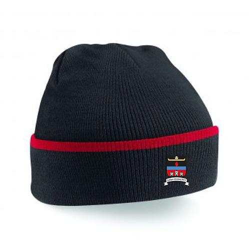 Beanie Hat Black/Red