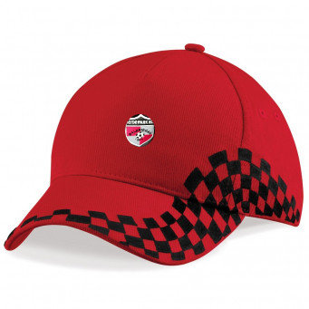 Baseball Cap Black/Red