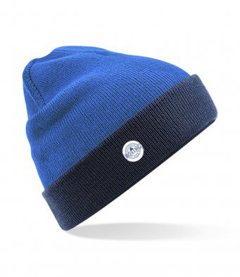 Beanie Hat Saphire Blue/Navy