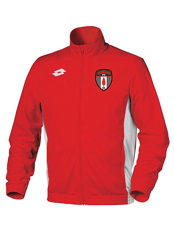 Adult Track Top Sweat Delta FZ Red