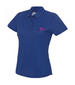 Adult Polo Shirt Royal
