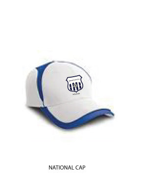 National Cap White/Royal