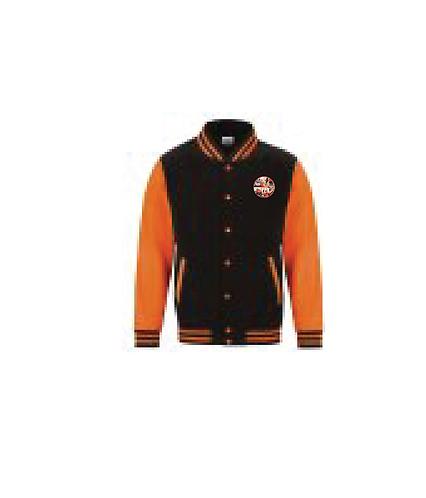Baseball Jacket Black/Orange