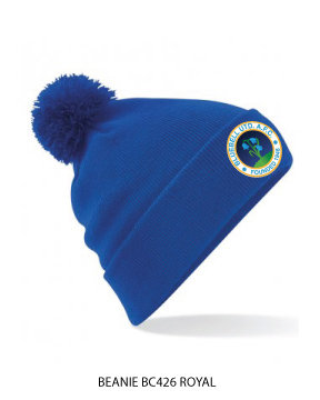 Beanie Stadium Bobble Royal