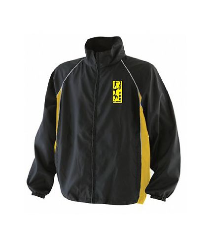 Adult Rain Jacket Black/Yellow