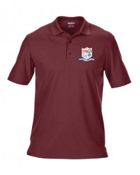 Kids Polo Marroon