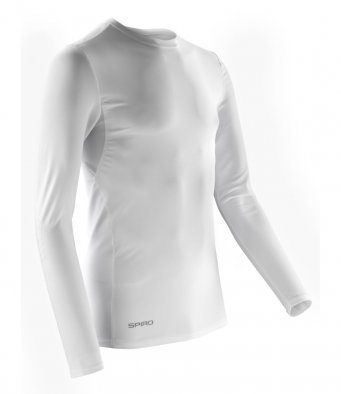 Base Layer Adult Top White