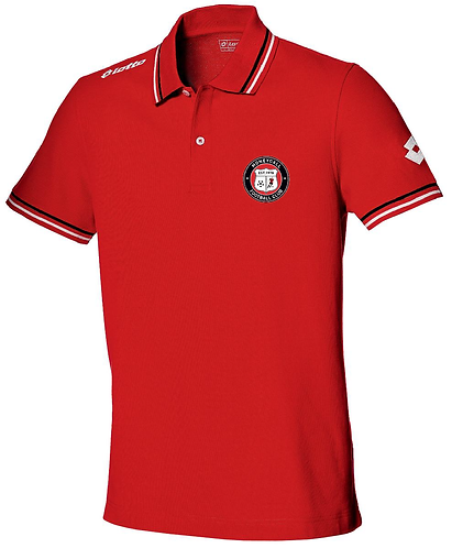 Adult Polo Shirt Red
