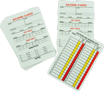 Referee Cards - Pack of 20