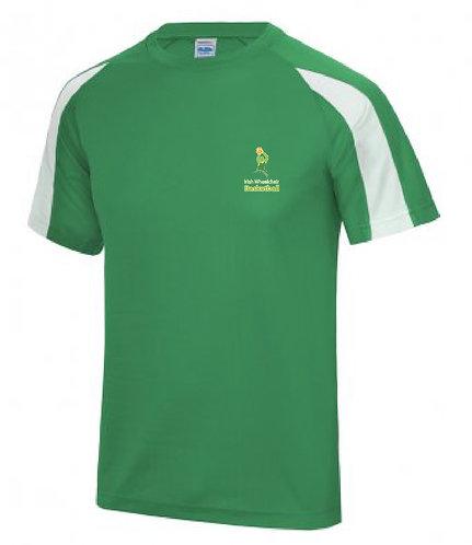 Adult Tee Shirt Green