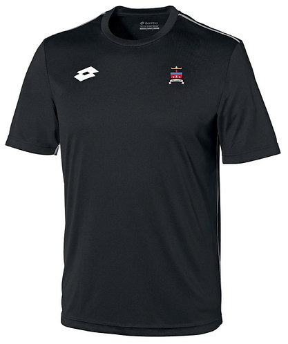 Kids Training Jersey Black Polyester