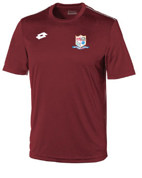 Adult Training Tee Maroon