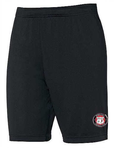 Kids Football Shorts Black