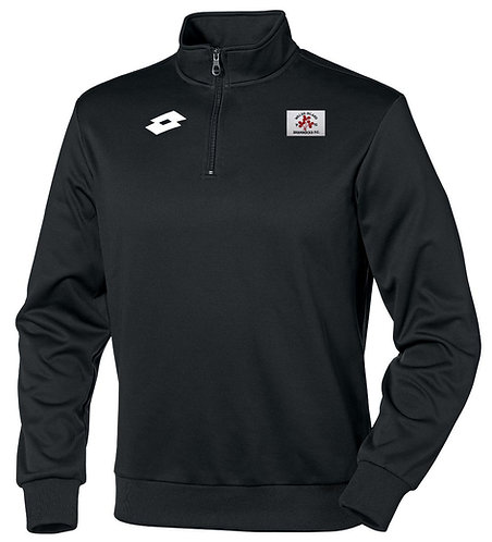 Adult 1/4 Zip Sweat Delta HZ Black