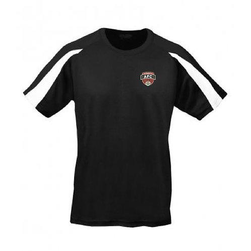 Adult T Shirt Black/White