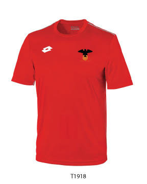 Adult Shooter Top Red