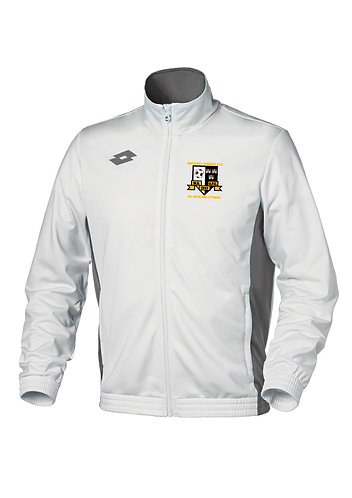 Kids Track Top Sweat Delta FZ White