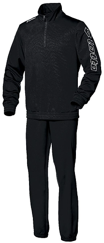 Kids Training Tracksuit Black