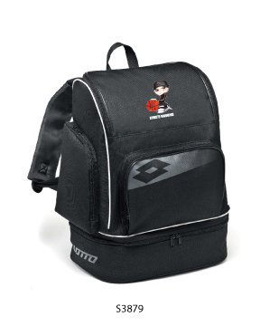Backpack Basketball Omega II Black/Grey
