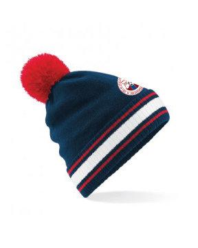 Beanie Hat Navy/Red