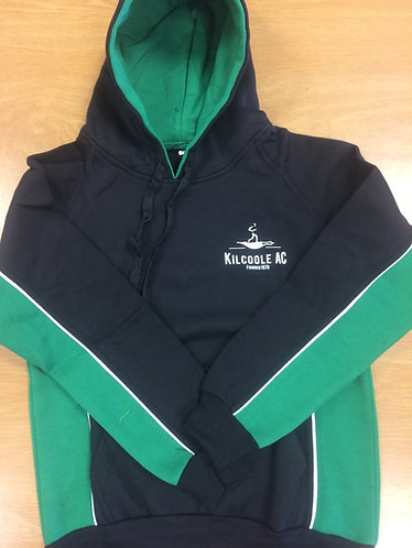 Kids Kilcoole AC Hoody Black/Green