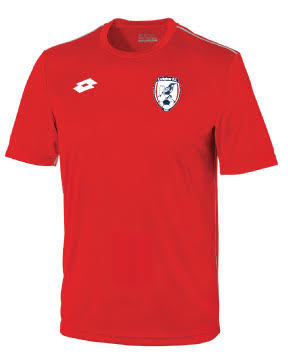 Adult Jersey Delta Red/White