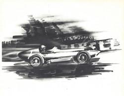 Scarab Formula 1 Car Sketch