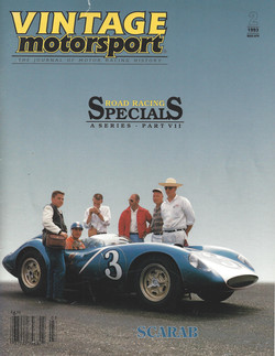 Vintage Motorsport Scarab Cover