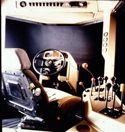 Steiger Tractor Interior
